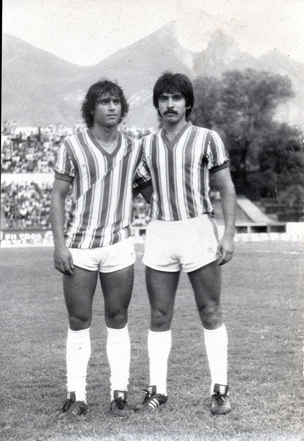 Francisco Romero y Pepe Treviño