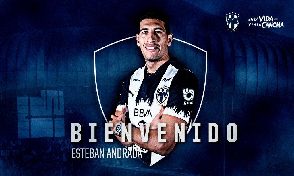 BIENVENIDO, ESTEBAN ANDRADA, NUEVO PORTERO DE RAYADOS - Sitio Oficial del  Club de Futbol Monterrey